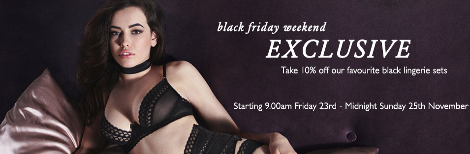Black Friday lingerie sales  a0bce497d